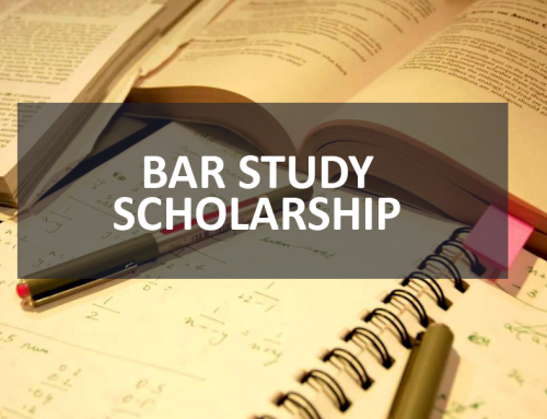 2019 Bar Study Scholarship Applications
