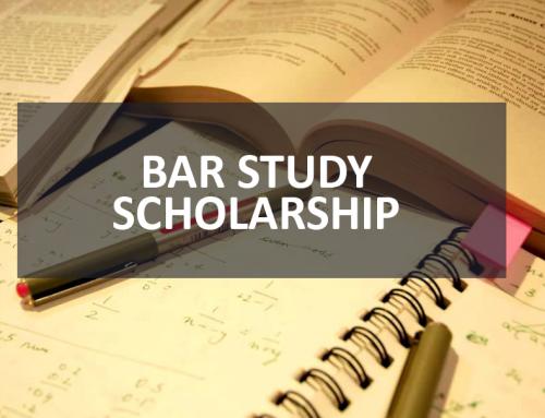 2019 Bar Study Scholarship Applications