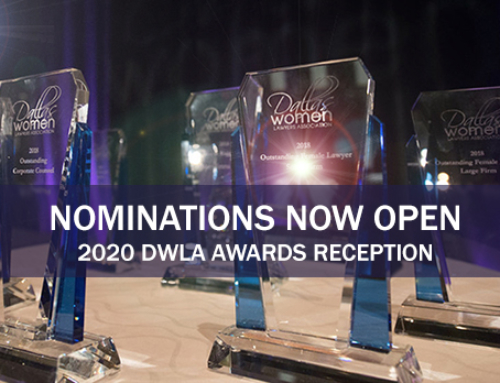 Nominations for 2020 Awards Reception
