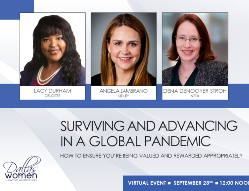 Surviving and Advancing in a Global Pandemic