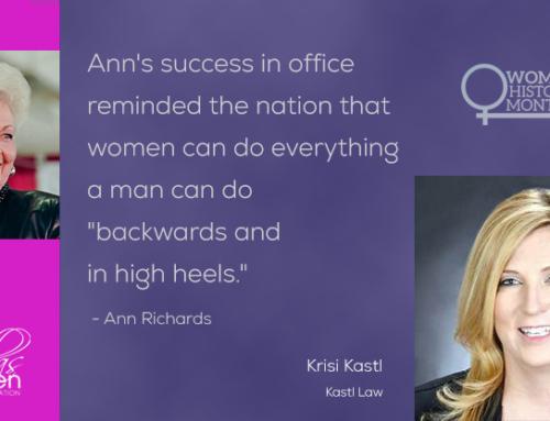 2021 Womens History Month-Krisi Kastl