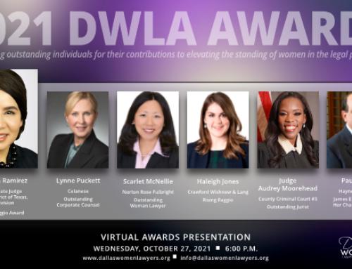 DWLA Announces 2021 Award Recipients
